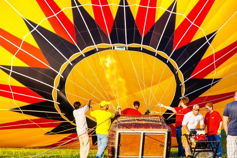Balloon inflation