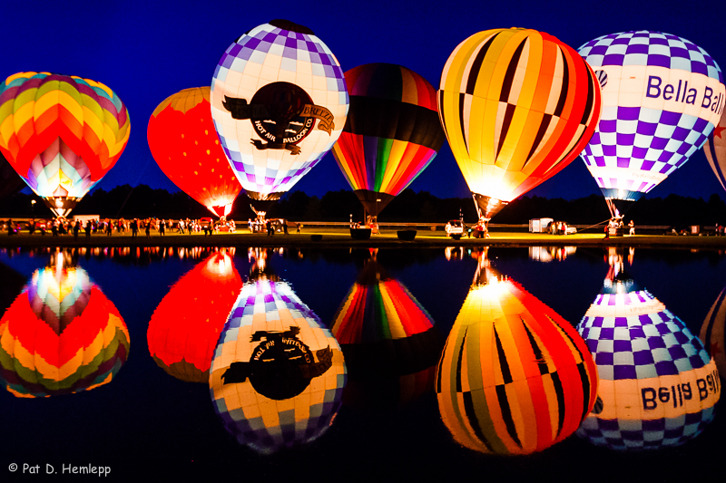 Reflected glow