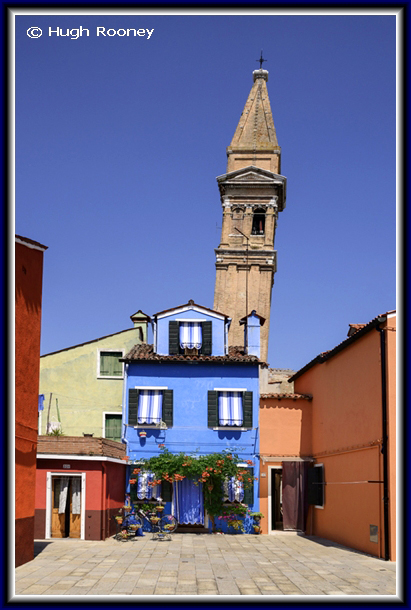 Venice - Burano Island - Chiesa di San Martino