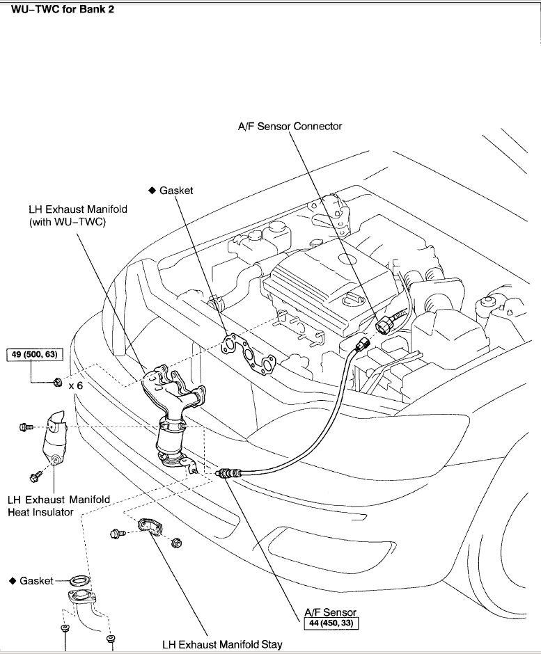 2006 Toyota Avalon Engine Diagram