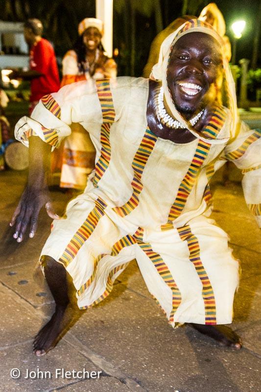 Ethnic Dance Troupe Dancer