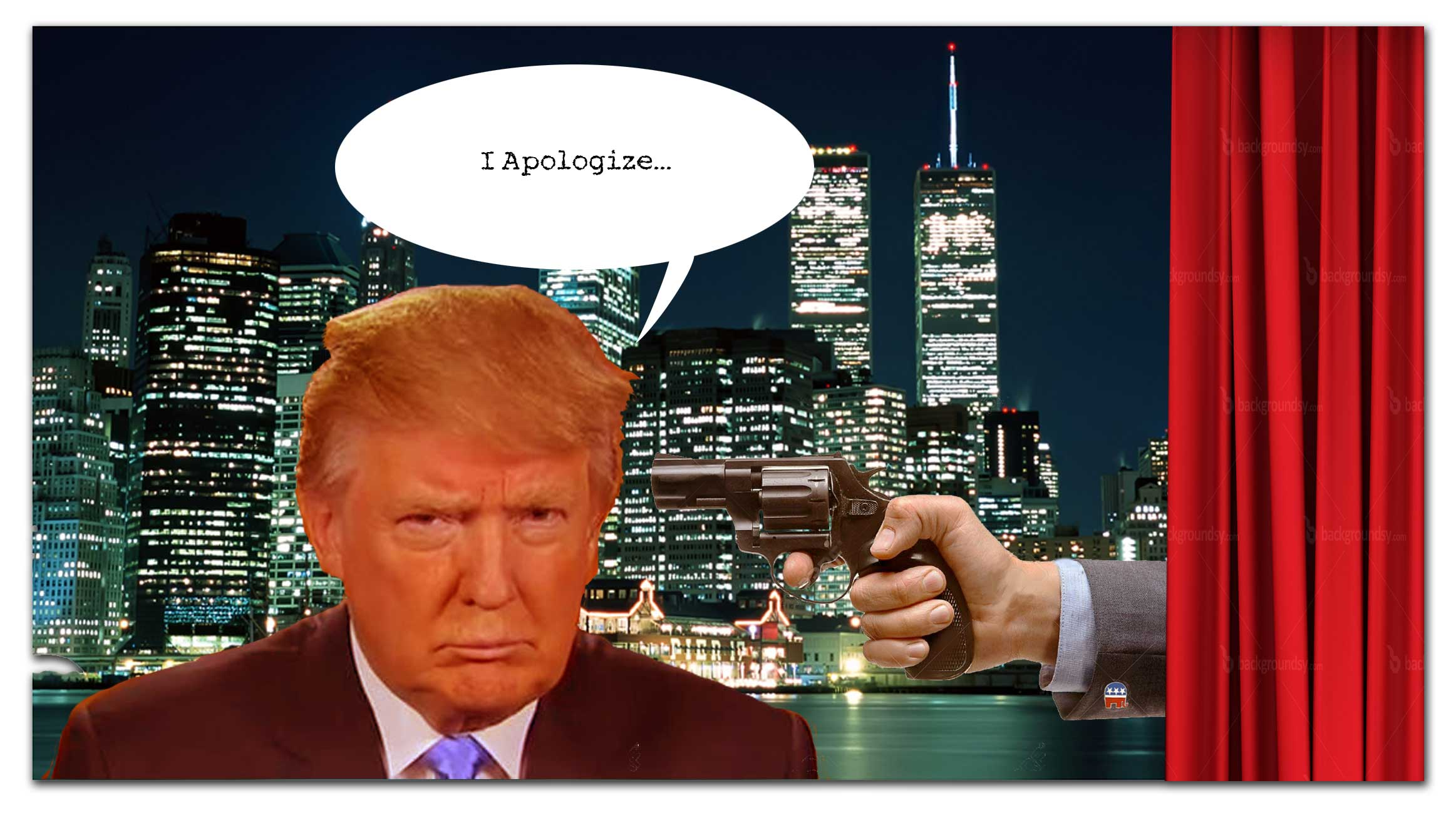 Trumps Non-Apology after his Pussy remarks