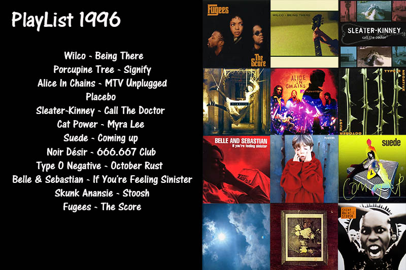 My PlayListe 1996