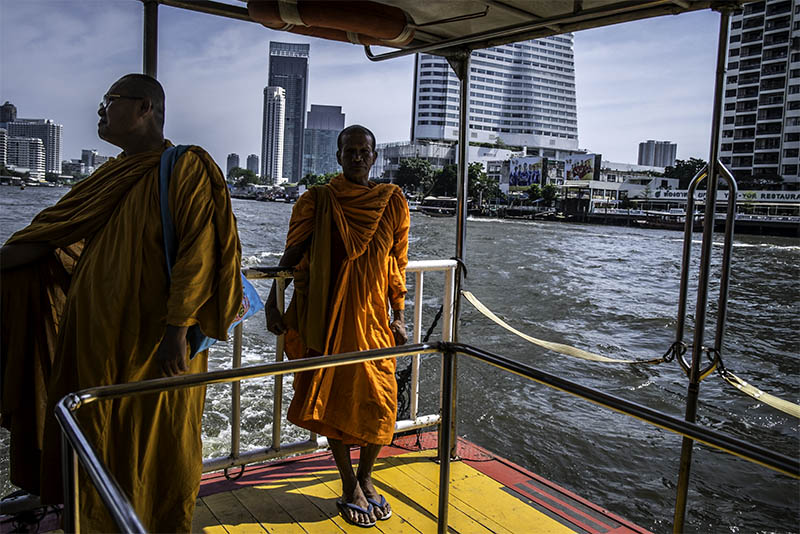 Taïlande - Bangkok Le Chao Phraya