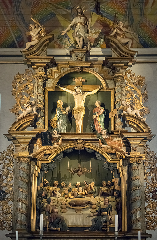 Oslo Cathedral, altar