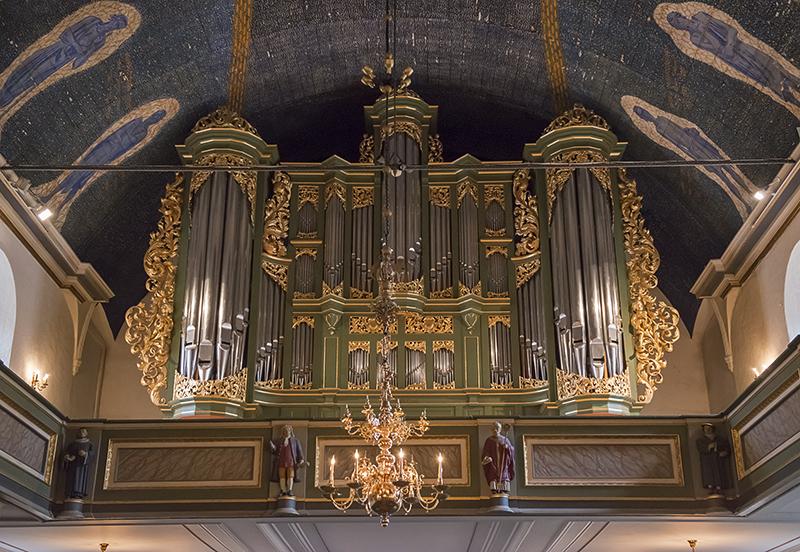 Oslo Cathedral, original organ