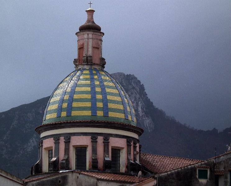 St John the Baptist church tower Vietri Sul Mare