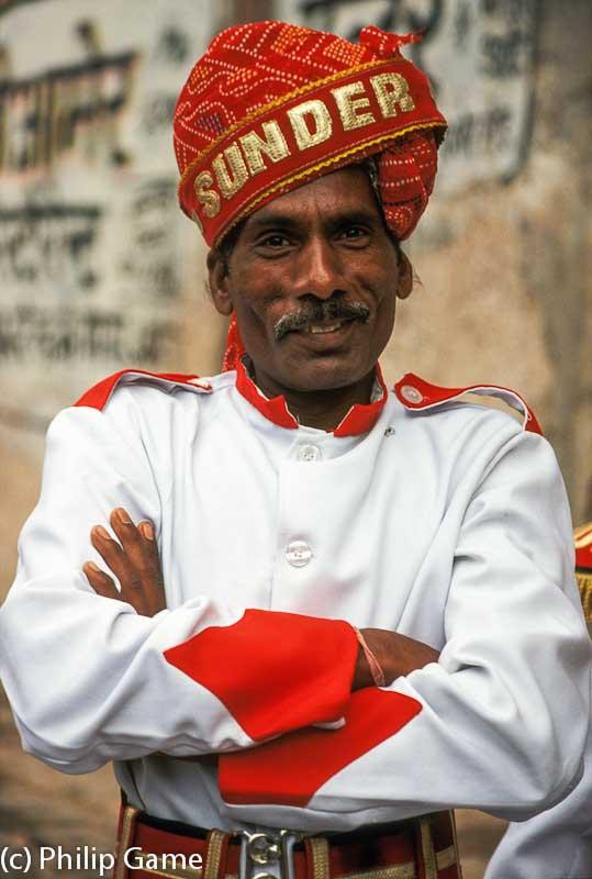 Jaipur bandsman