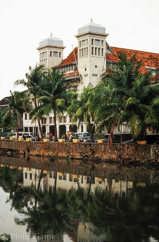 Kali Besar in the old Kota district