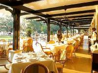 The Royal Livingstone Hotel - outsdie dining terrace (their website photo)
