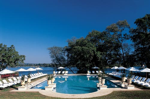 The Royal Livingstone Hotel - the pool (their website photo)
