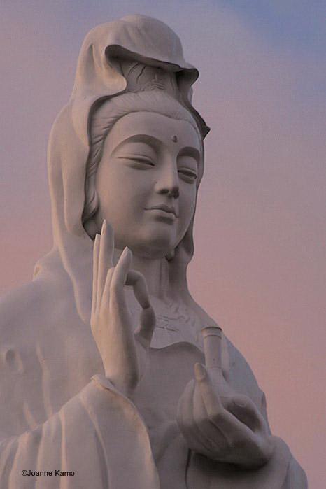 Vovinam Buddhist Temple Sculpture of Guan Yin