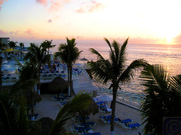 Evening in Cozumel