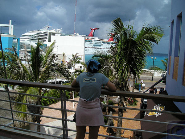 Tourist Hub in Cozumel