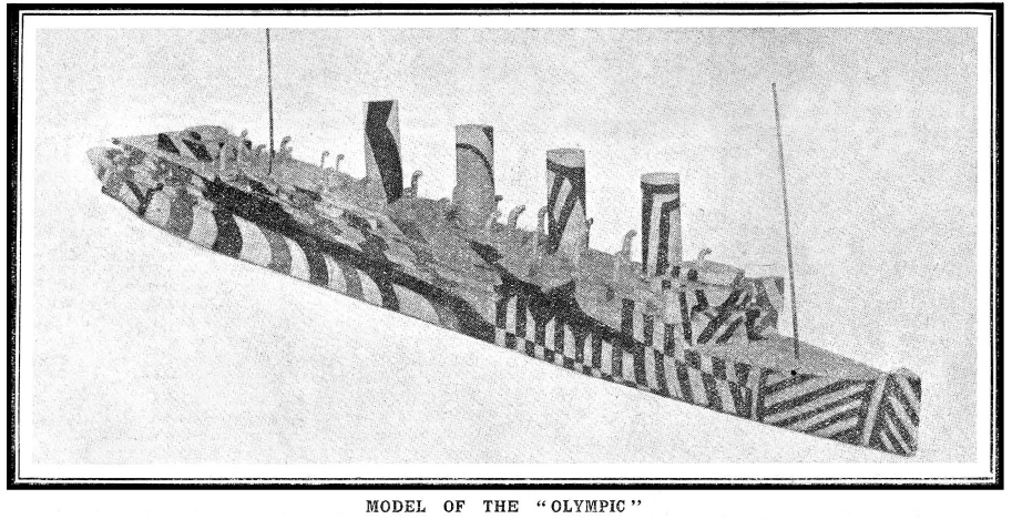 The Olympic from Gordon (1918)