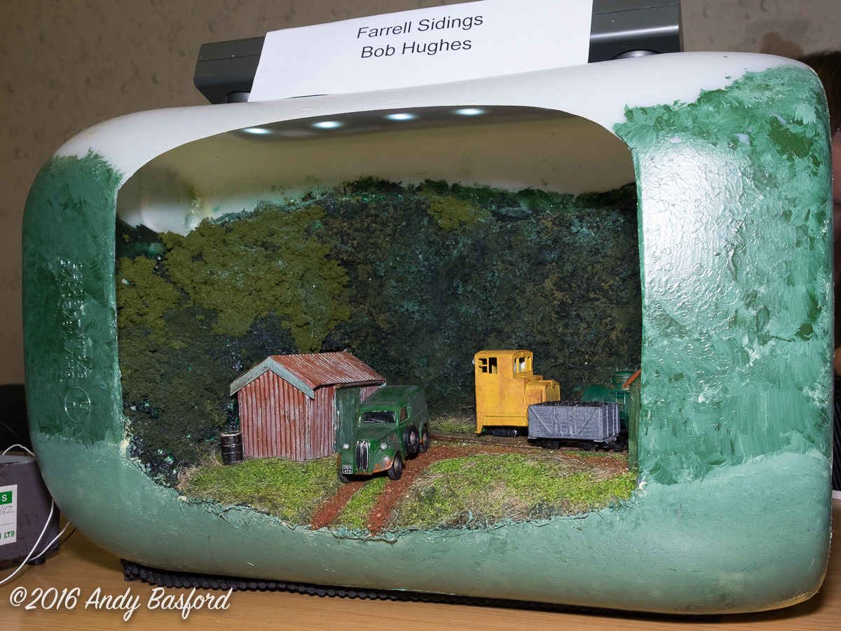 Farrell Sidings, Dave Brewer Challenge entry by Bob Hughes