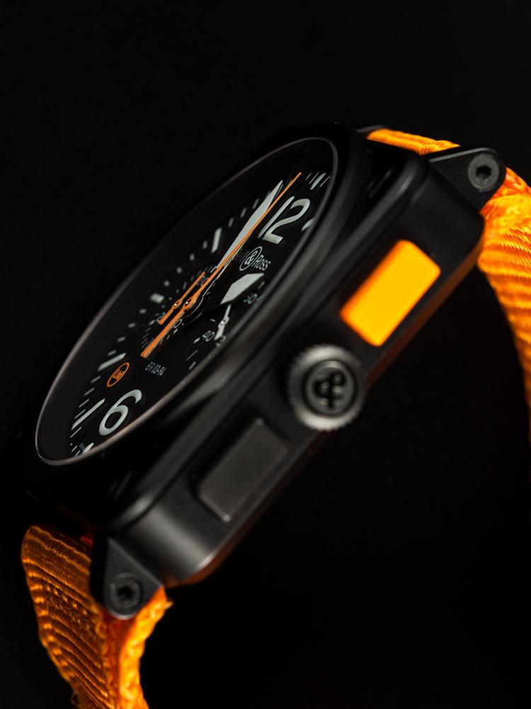BR03-94 Carbon Orange, Bell & Ross BR03-94, BR03-94