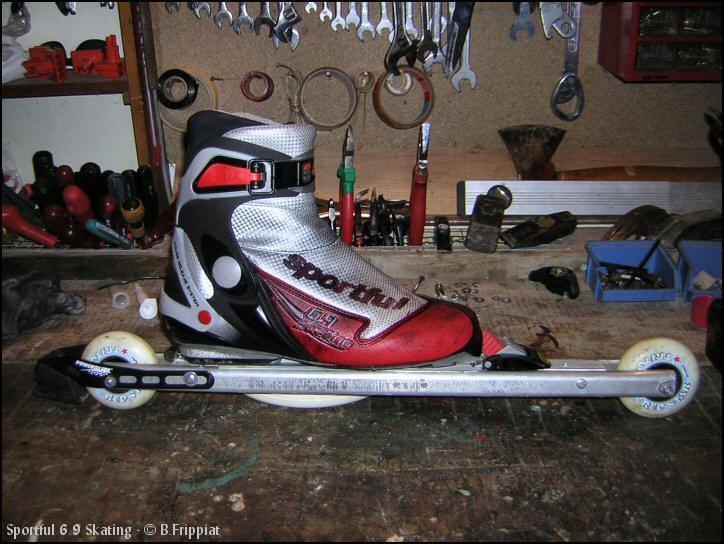 Chaussures de ski de fond Sportful 6.9 Skating.