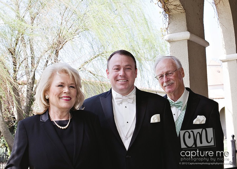 Sarah, Todd (son) and Ronnie, April 2012