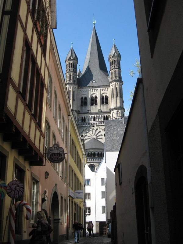 Köln. Gross St.Martin Church