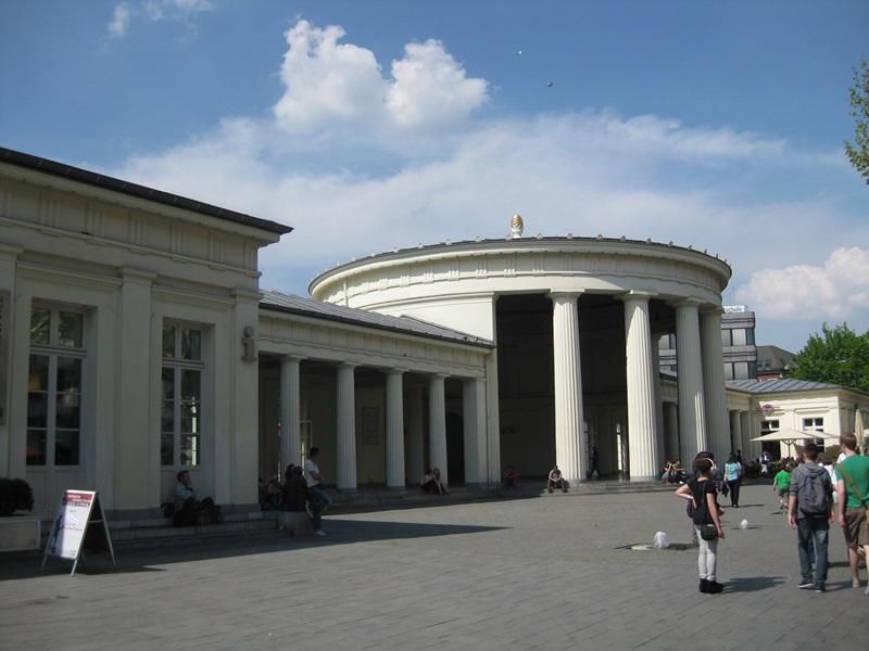Aachen. Elisenbrunnen