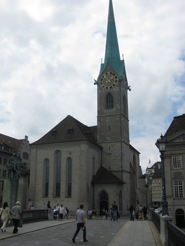 Zurich. Fraumünster Abbey