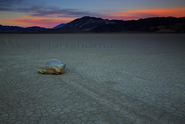 Racetrack Twilight Death Valley