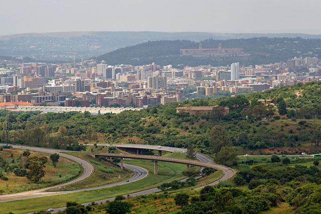 Pretoria, from the Voortrekker Monument