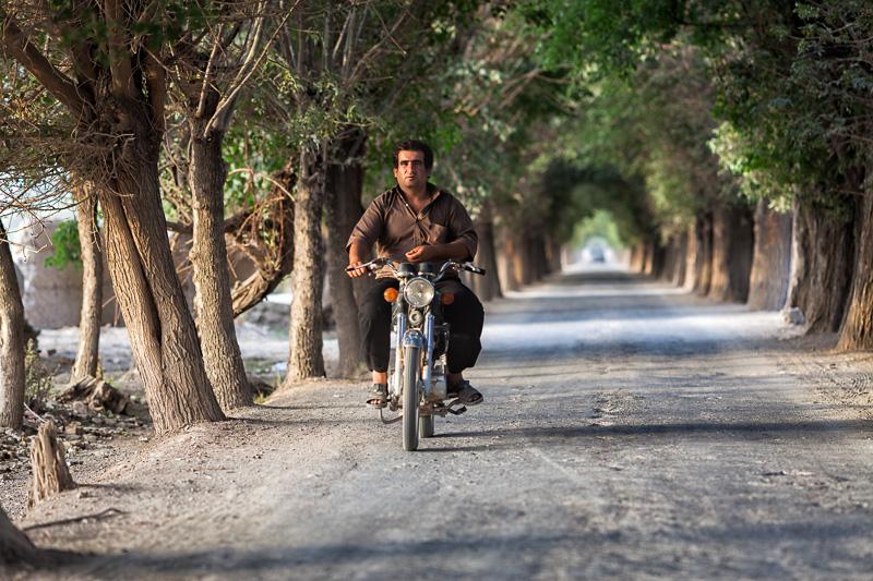 Motorcyclist - Esfahan