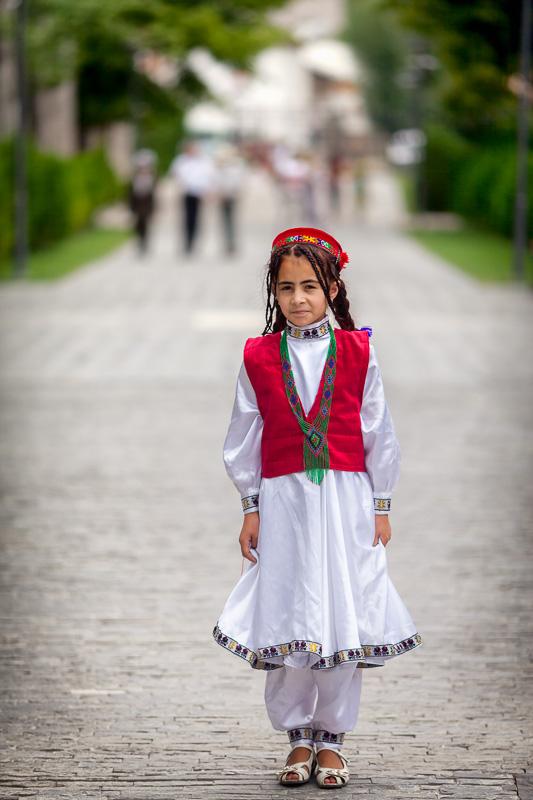 Pamiri girl - Khorog
