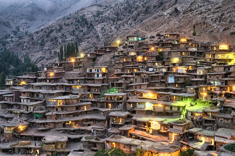 Sar Agha Sayed at dusk