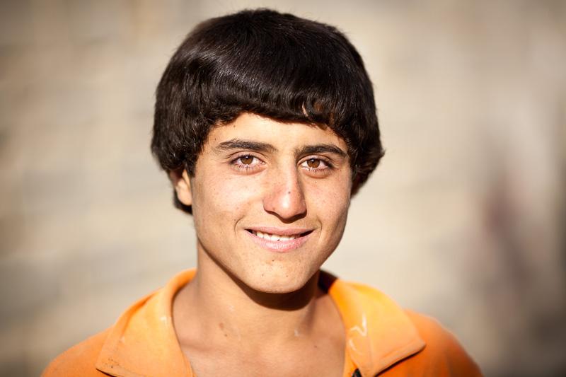 Teen boy - Kaj
