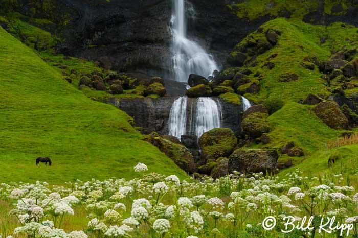 Foss a Siduall Waterfall,  Southeast Coast Iceland  1