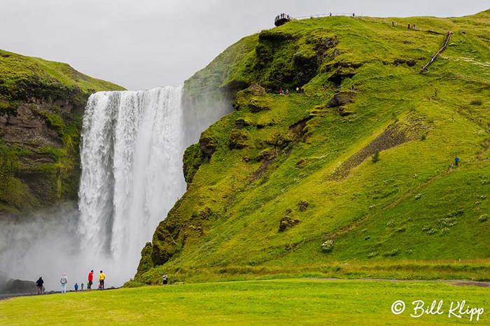 Skogafoss Waterfall  1