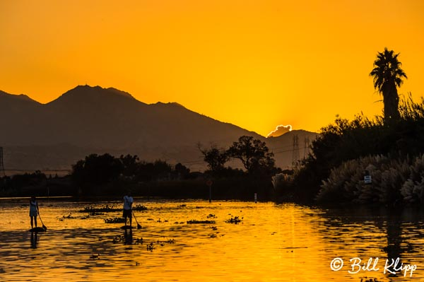 Paddle Boarding at Sunset  2 --  2015 Town of Discovery Bay Calendar Winner