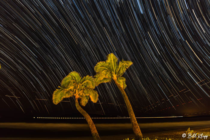 Star Trails Over Maui  1
