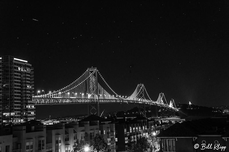 Bay Bridge Night Sky  1