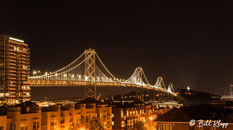 Bay Bridge Night Sky  2