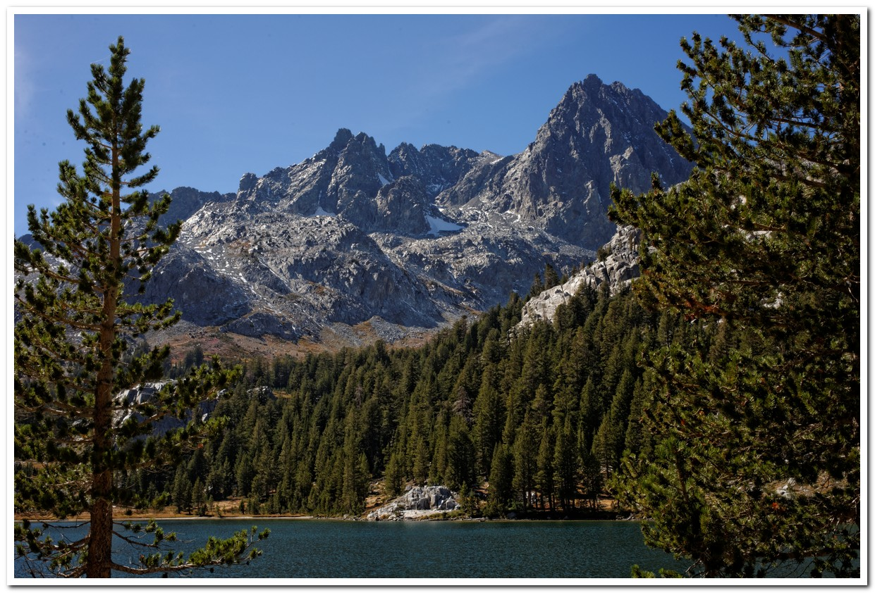 Mt. Ritter from Ediza Lake, Ansel Adams Wilderness