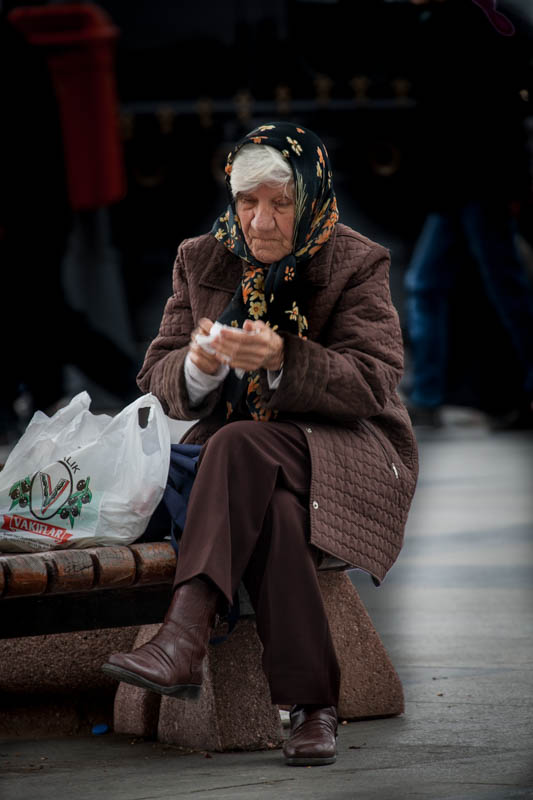 Local Woman - Istanbul