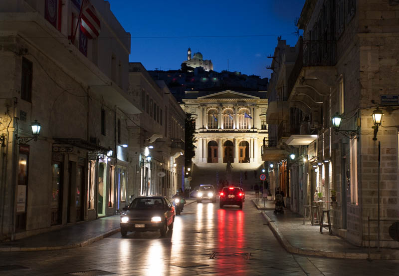 Syros by Night