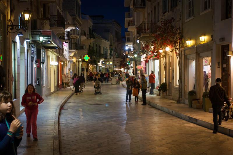 Syros by Night