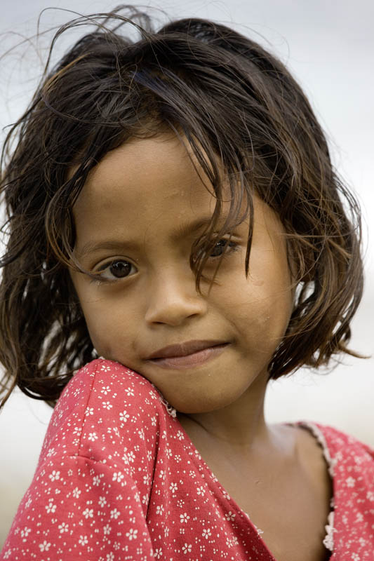 Young girl, Flores Island, Indonesia