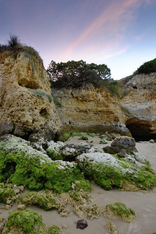 Oura beach, Algarve, Portugal