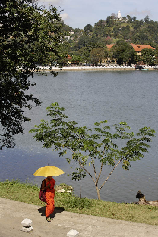 Kandy, view from Malwatta Monastery