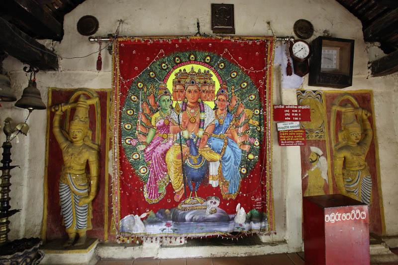 Embekke Devale, near Kandy