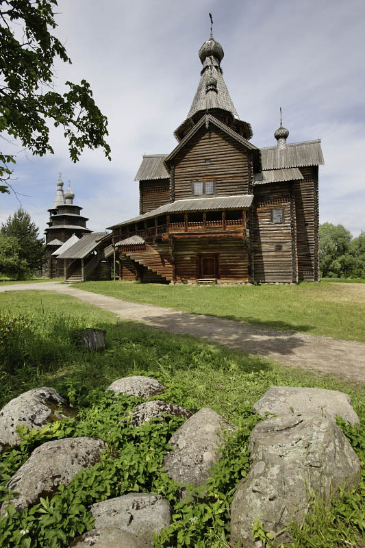 Vitoslavlitsy Museum, Novgorod, Russia