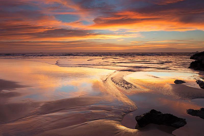 Cova do Vapor beach, Portugal