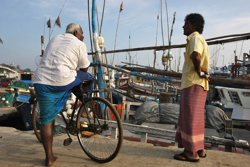Tangalle harbour