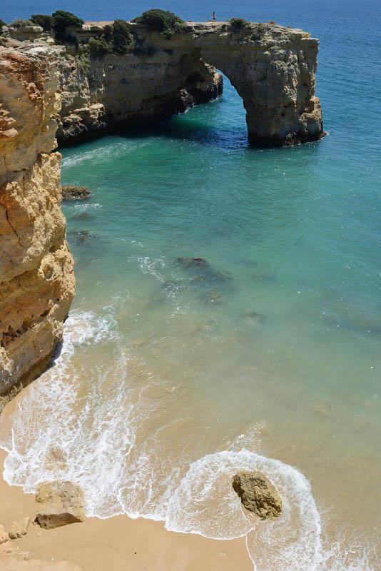 Albandeirinha beach, Portugal